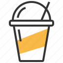 beverage, cup, drink, glass, smoothie icon