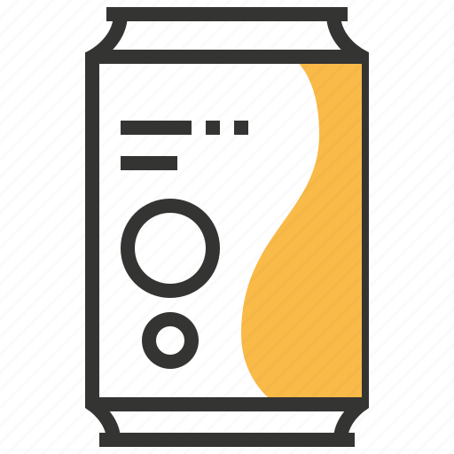 beverage, can, drink, juice, soda icon