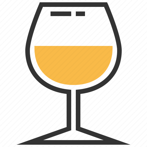 alcohol, beverage, drink, glass, white, wine icon