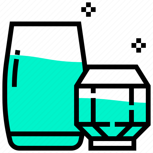beverage, cocktail, drink, glass, juice, water icon