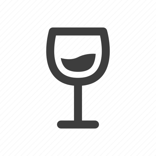 beverage, glass, wine icon