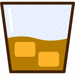 cola, colour, coloured, drink, food, outline, whisky icon
