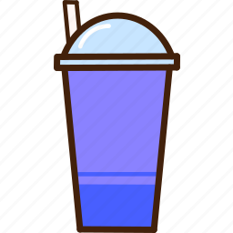 colour, coloured, drink, food, milk, outline, smoothy icon