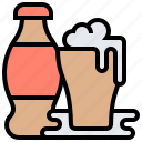 beverage, bottle, cola, drink, soda icon