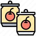 beverage, can, drink, fruit, juice icon