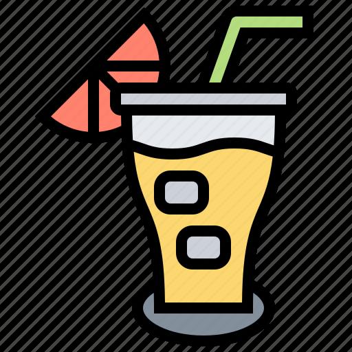 beverage, drink, juice, orange, water icon