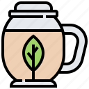 beverage, drink, glass, healthy, tea icon