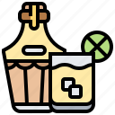 alcohol, beverage, drink, vodka, whisky icon