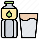 beverage, bottle, drink, mineral, water icon