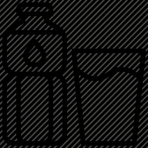 Beverage, bottle, drink, mineral, water icon - Download on Iconfinder