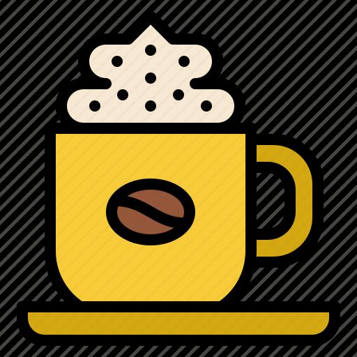 beverage, coffee, cream, drink icon