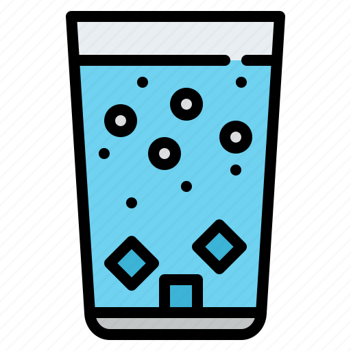beverage, drink, soda, water icon