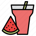 beverage, drink, juice, watermelon