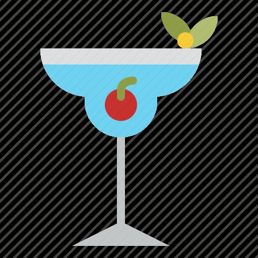 beverage, cherry, cocktail, drink icon