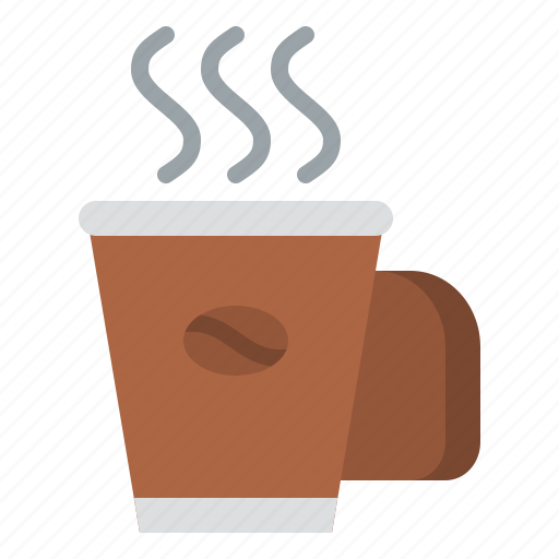 beverage, coffee, drink, hot icon