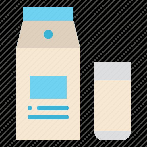 Beverage, drink, glass, milk icon - Download on Iconfinder