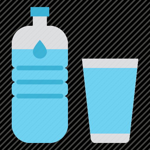 beverage, bottle, drink, water icon