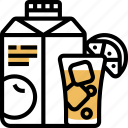 juice, carton, box, commercial, refreshment