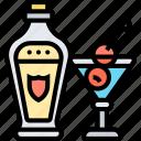 martini, italian, cocktail, gin, nightclub