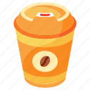 cappuccino, coffee, disposable, drink, espresso, hot, paper cup