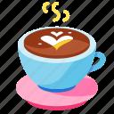 beverage, caffeine, coffee, drink, hot, latte, milk