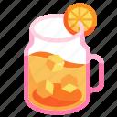 citrus, fruit, juice, orange juice, organic, refreshment, tropical icon