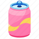 beverage, drink, energy, refreshment, soda, soft drink can