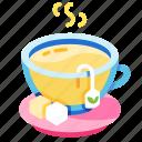 cup, drink, herbal, hot, organic, tea, teacup icon