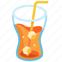 beverage, carbonated, cold, drink, refreshment, soda, soft drink icon