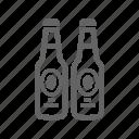 alcohol, beverage, bottle, drink, food, water