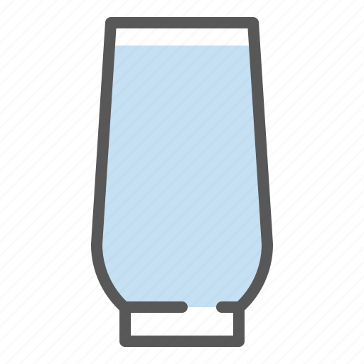 beverage, drinks, glass, water, water glass icon