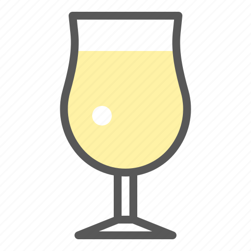 alcohol, beverage, champagne, drinks, glass, white wine icon