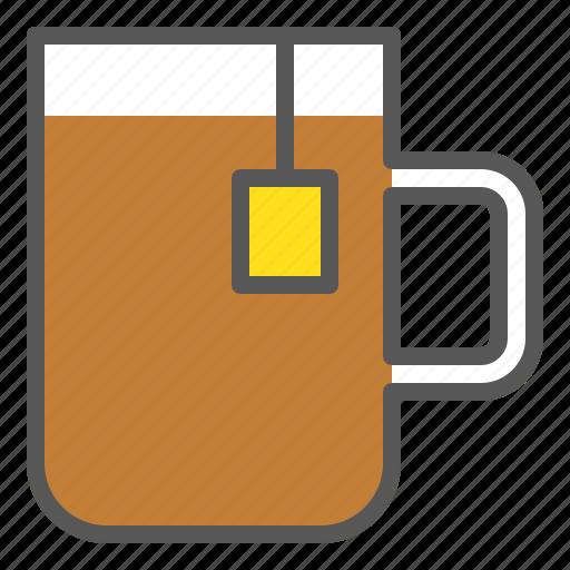 beverage, drinks, hot drink, tea, tea cup icon