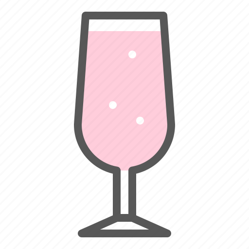 alcohol, beverage, champagne, drinks, glass, soft drink icon