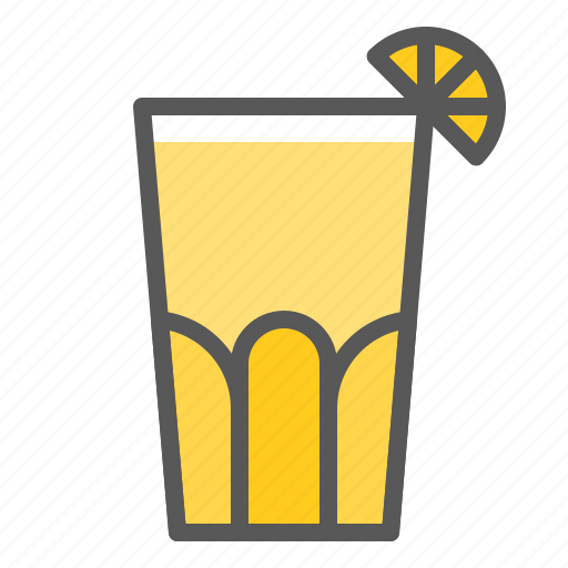 beverage, drinks, glass, juice, lemon juice, lemonade icon