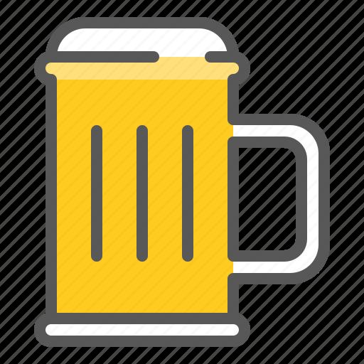 alcohol, beer, beer glass mug, beverage, drinks, glass icon