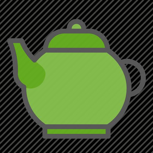 beverage, drinks, tea, teapot icon