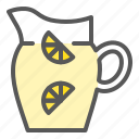 beverage, drinks, jug, juice, lemonade, lemonade jug icon