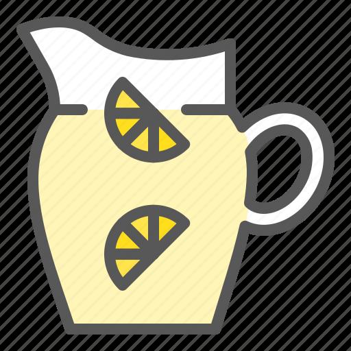 beverage, drinks, jug, juice, lemonade, lemonade jug icon