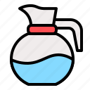 beverage, drink, jug, water icon