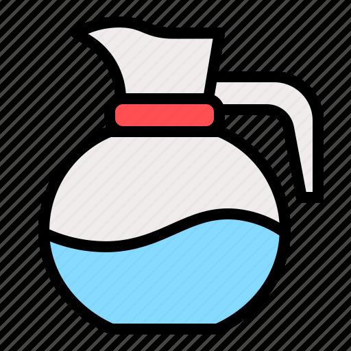 beverage, drink, jug, water icon