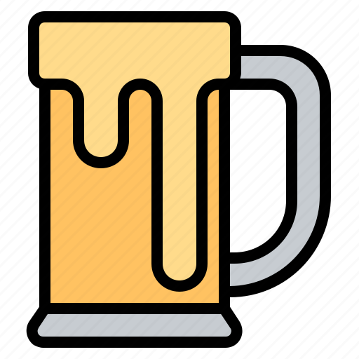 alcohol, beer, beverage, glass, party icon