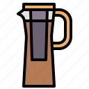 beverage, brew, coffee, cold, jug icon