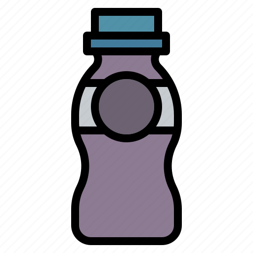 Beverage, bottle, drinking, milk, yogurt icon - Download on Iconfinder
