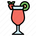 fruit, beverage, mocktail, juice, punch icon