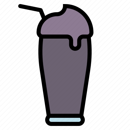 beverage, blueberry, drink, smoothie, yogurt icon