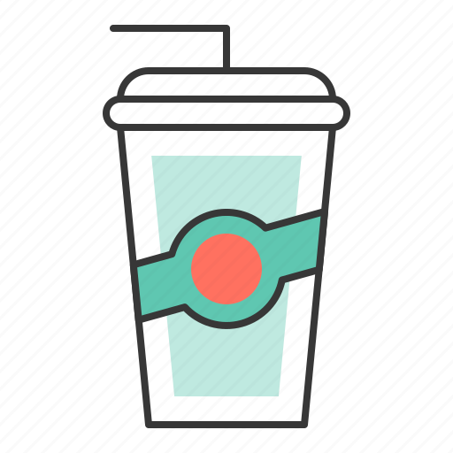 beverage, disposable cup, drinks, paper cup, plastic cup icon