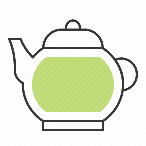 Tea, beverage, teapot, drinks icon