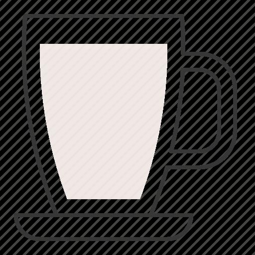 beverage, drinks, milk, milk cup icon