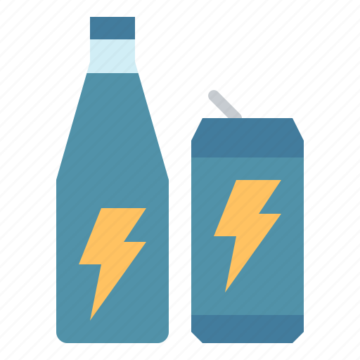 beverage, bottled, can, drink, energy icon